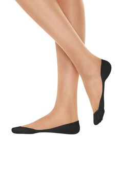 Hanes X-Low Microfiber Foot Cover 2-Pack,