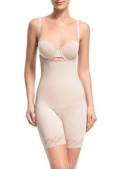 Sensual Secret Open-Bust Mid Thigh Short,