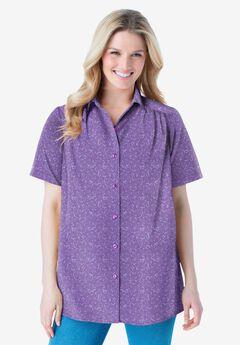Peached Button Down Shirt,