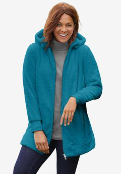 Fleece Hooded Jacket,