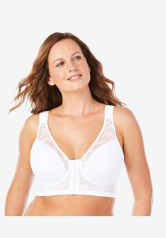 Ava Front-Close Lace Wireless Posture Bra 5230,