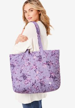 Quilted Tote Set,