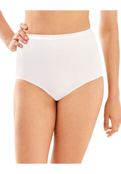 Full-Cut-Fit Stretch Cotton Brief ,