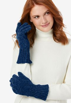 Chenille Gloves,