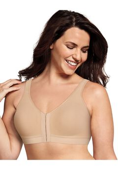 18 Hour Cotton Comfort Front & Back Close, Easy On & Easy Off Bra,