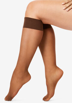 SHEER KNEE-HIGH PANTYHOSE,