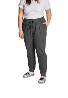 Champion Women's Plus Powerblend® Fleece Joggers,
