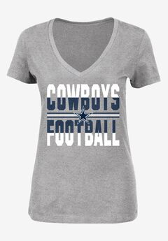 Classic V-Neck Short Sleeve NFL® Tee, COWBOYS