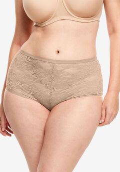 2-Pack Lace Hipster Panty ,