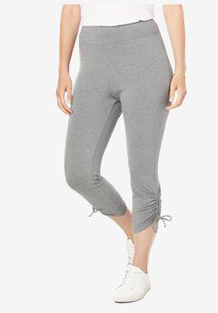 Side Cinch Capri Legging,