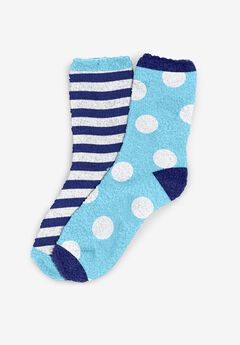 2-Pack Fuzzy Socks ,