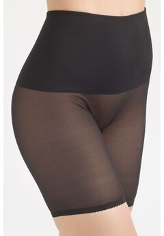 Tummy Shaper Band Sheer Bike Pant,