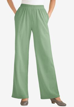 7-Day Knit Wide Leg Pant,
