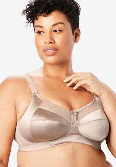 Keira Satin Wireless Bra,