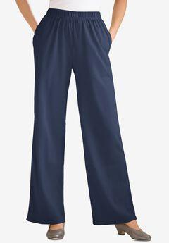7-Day Knit Wide Leg Pant,
