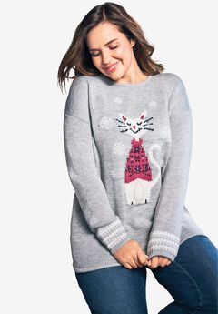 Holiday Pullover Sweater,