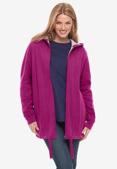 Thermal Lined Fleece Hoodie,