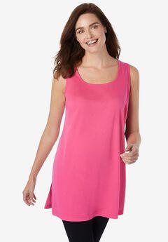 Longer Length Sleeveless Tunic,