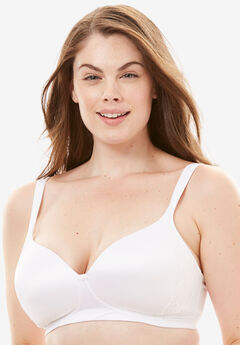 Bali® One Smooth U® Lace Side Sling Wirefree Bra 6546,