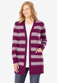 The Cotton Perfect Boyfriend Cardigan,