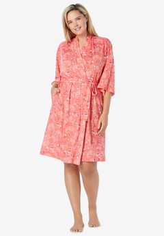 Cooling Robe, SWEET CORAL FLOWERS