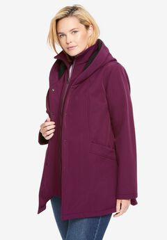 A-line Softshell Coat,