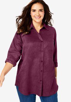 Soft Sueded Moleskin Shirt,