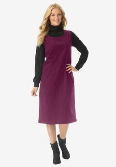 Corduroy sleeveless jumper,