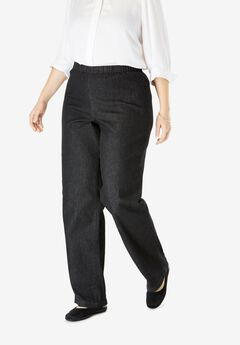 Pocketless Bootcut Fineline Jean,