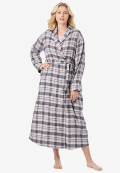 Long Flannel Robe ,
