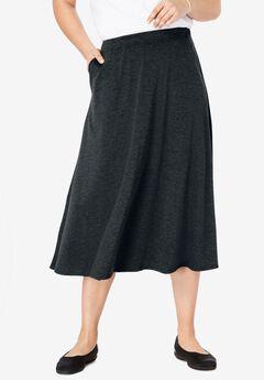 A-Line Ponte Skirt,