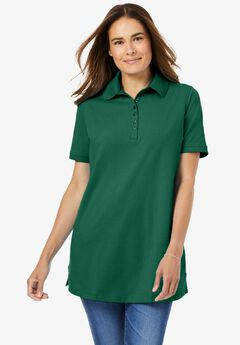 Perfect Short-Sleeve Polo Shirt,