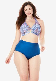 Underwire Halter Bikini Top ,