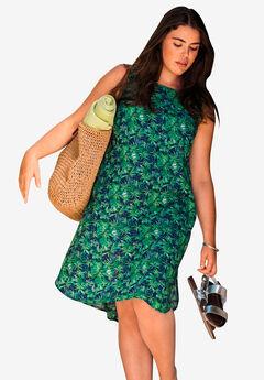 Sleeveless Shift Dress,