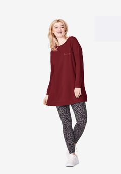 Love Tunic Sweatshirt,
