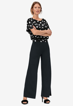 Wide Leg Soft Pants,