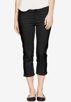 Stretch Slim Capris,