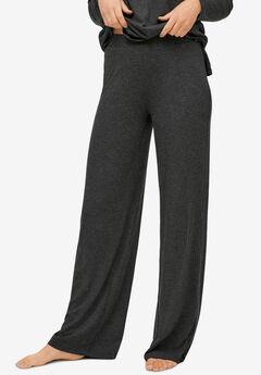 Ribbed Wide Leg Knit Pants,