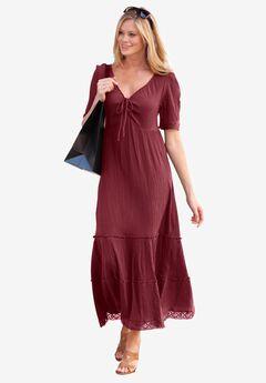 Gauze Maxi Dress,