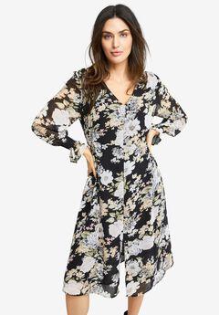 Side-Smock Dress,