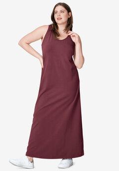 Tank Knit Maxi Dress,