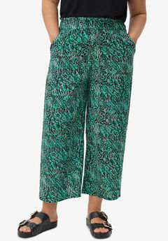 Cropped Soft Pants,