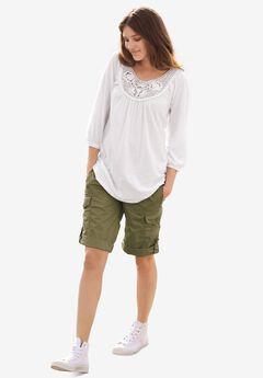 Convertible Cargo Shorts,