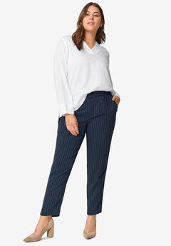Soft Back-Elastic Trousers,