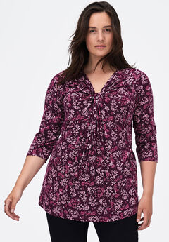 Twisted Knot-Front Tunic,