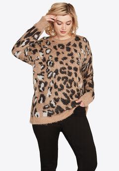Leopard Print Sweater,