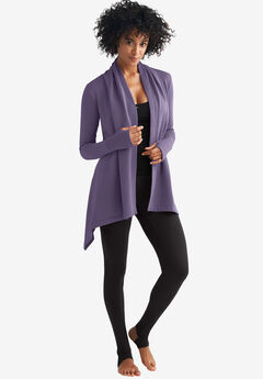 Wrap-Front Cardigan,