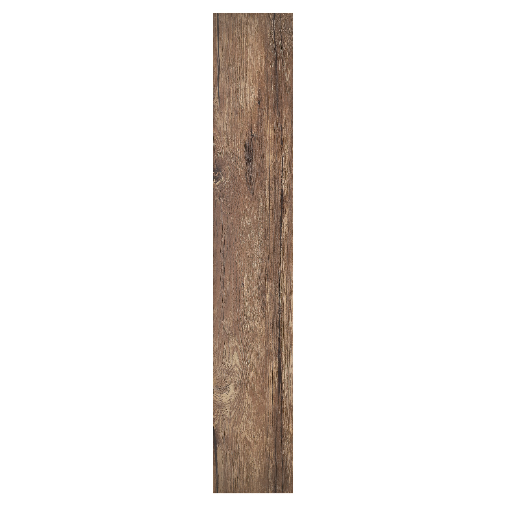 Sterling Walnut 6x36 1.2mm Self Adhesive Vinyl Floor Planks - 10 Planks/15 sq. ft.,