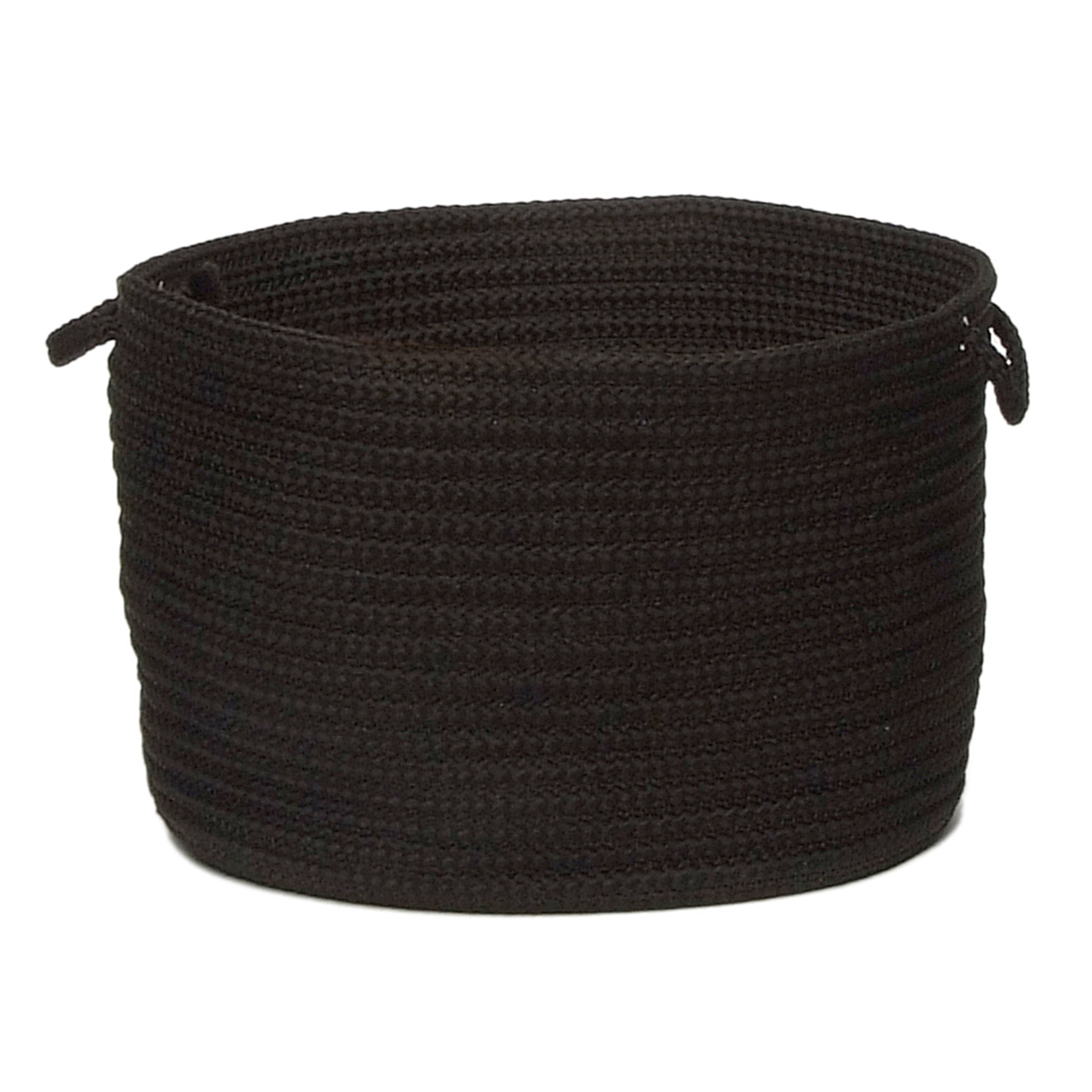 Simply Home Solid Basket , BLACK
