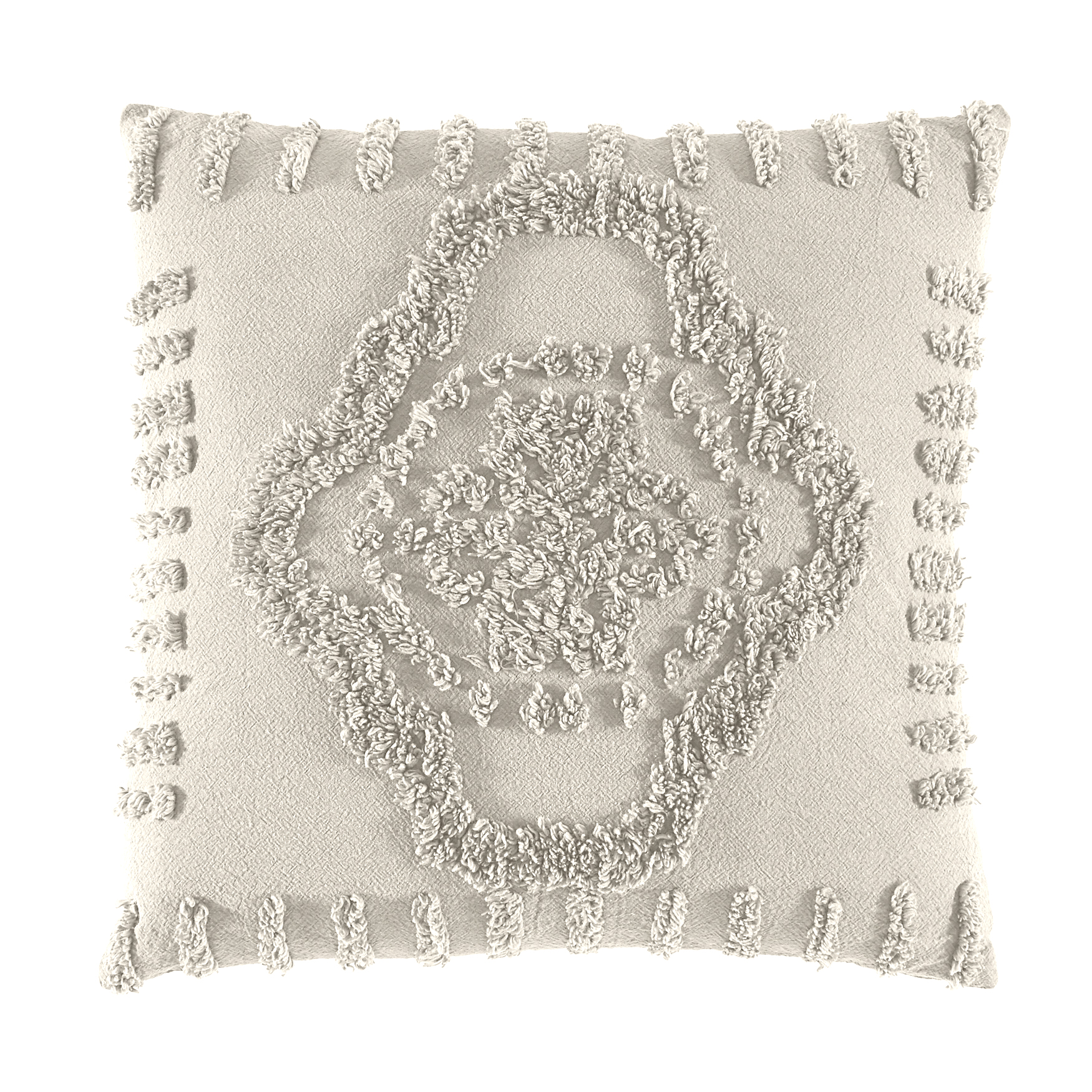 Madison Chenille Sq. Pillow, IVORY